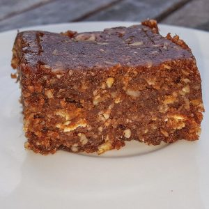 Cashew Cacao Date bars