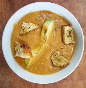Sweet Potato Carrot Soup
